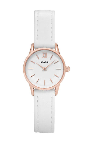 Montre La Vedette Rose Gold White/White CL50030 - PRECIOVS