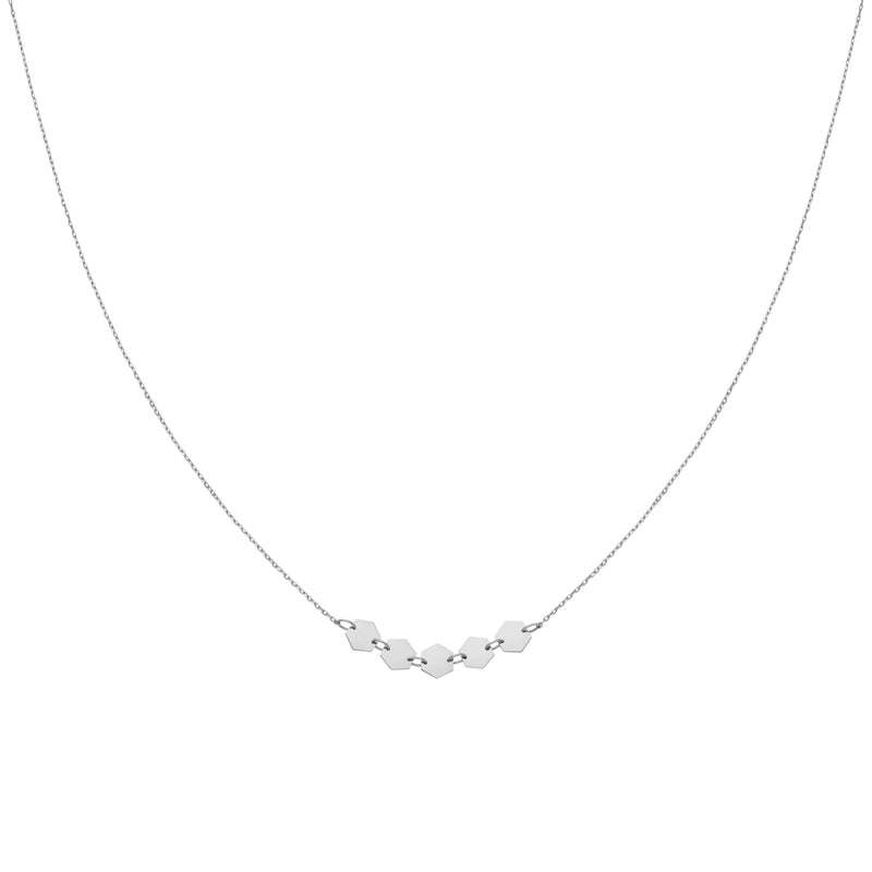 Collier CLUSE Essentielle Silver Hexagons CLJ22001 - PRECIOVS