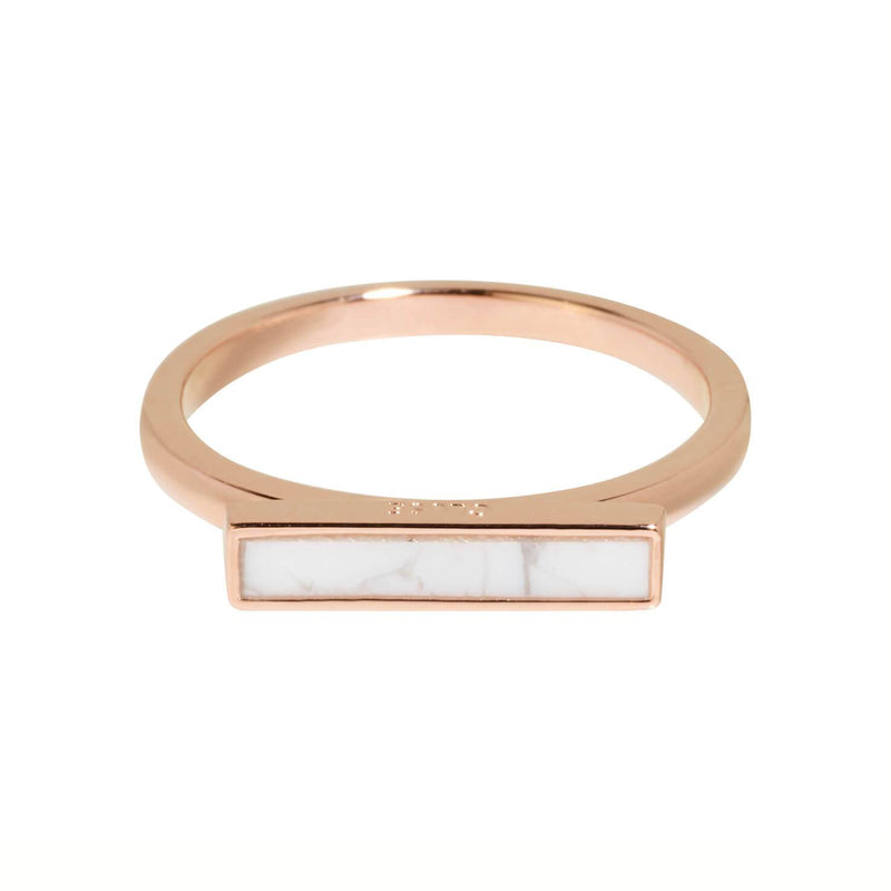 Bague CLUSE Idylle Rose Gold Marble Bar CLJ40002 - PRECIOVS