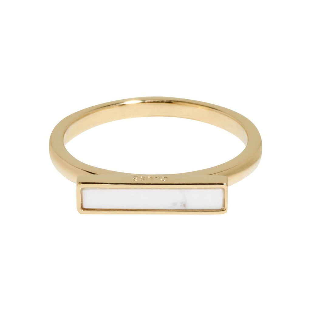 Bague CLUSE Idylle Gold Marble Bar CLJ41002