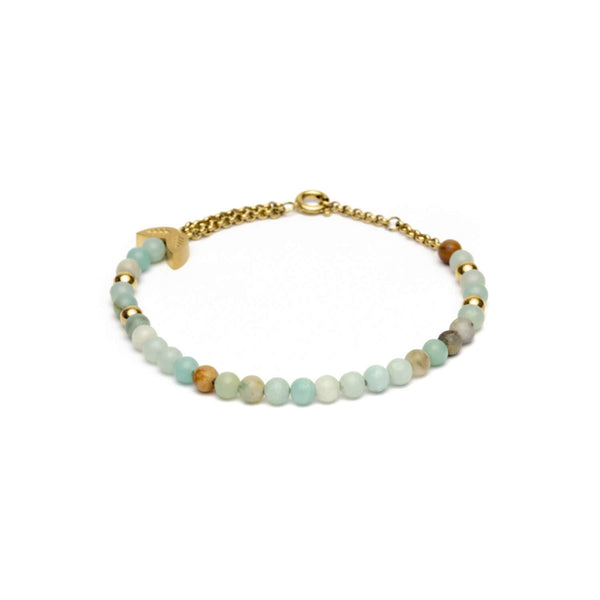 Bracelet Didyma par Gemini Chania 3 colours en pierres naturelles amazonite