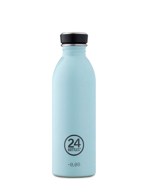 Bouteille réutilisable 24Bottles Urban Bottle Cloud Blue 500ml - PRECIOVS