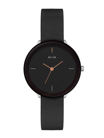 Montre MAM Originals Dark Ebony Night