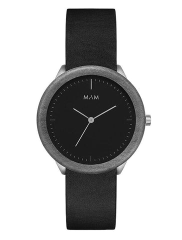 Montre MAM Originals Dark Maple Black