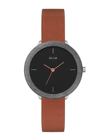 Montre MAM Originals Dark Maple Fauve
