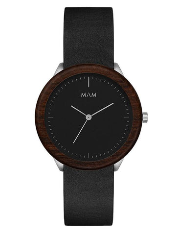 Montre MAM Originals Dark Teak Black