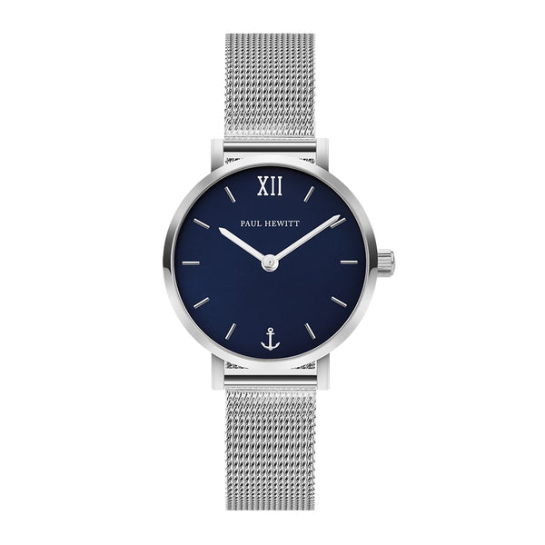 Montre Sailor Line Modest Blue Lagoon Acier Inoxydable Bande Mesh - PRECIOVS