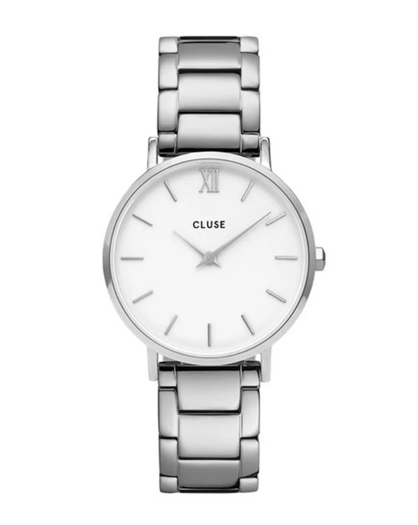 Montre CLUSE Minuit 3-Link Silver Steel CW0101203026
