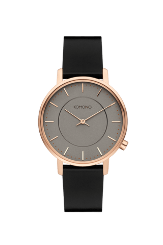 Montre Komono Harlow Black Rose