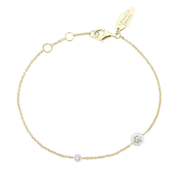 Bracelet I.Ma.Gi.N Jewels Br joyful white yellow - PRECIOVS