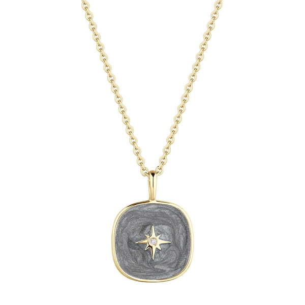 Collier I.Ma.Gi.N Jewels Co milkyway grey - PRECIOVS