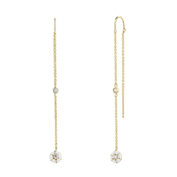 Boucles d'oreilles I.Ma.Gi.N Jewels Bo joyful white yellow - PRECIOVS