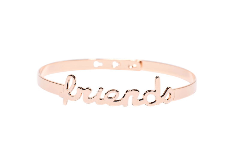 Bracelet Jonc MYA BAY My Words Friends Script JC-63.P - PRECIOVS