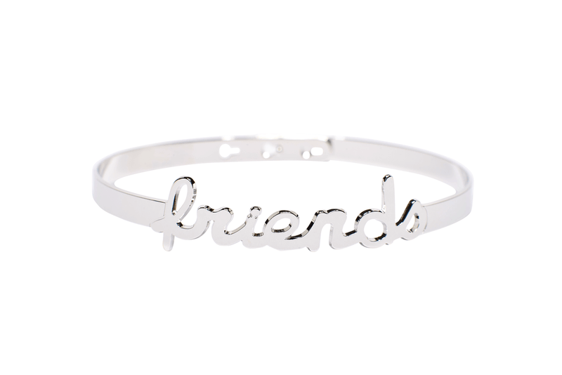 Bracelet Jonc MYA BAY My Words Friends Script JC-63.S - PRECIOVS