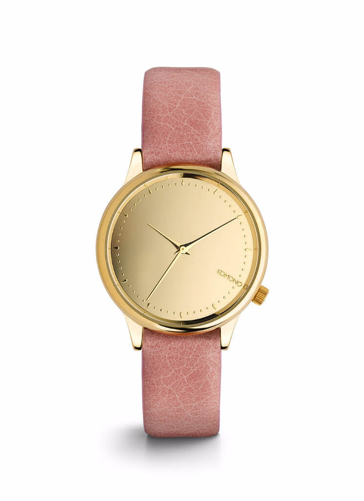 Montre Komono ESTELLE MIRROR GOLD/BLUSH KOM-W2870 - PRECIOVS