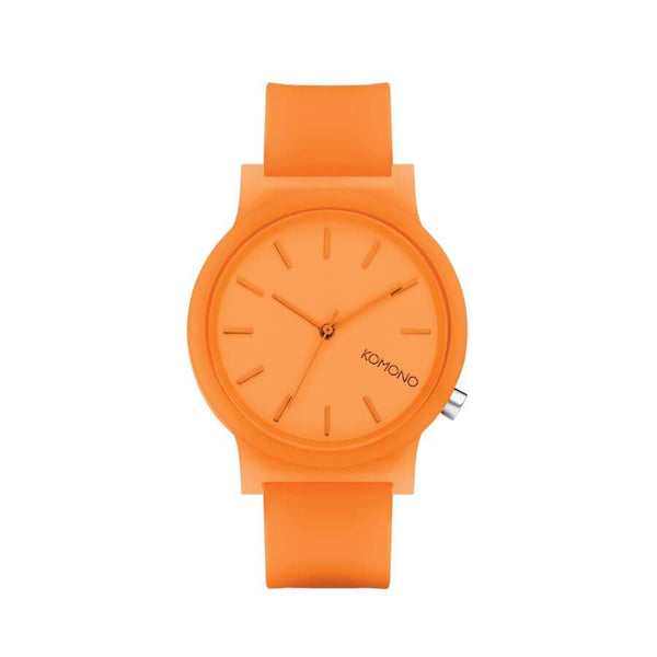 Montre KOMONO The Mono Neon Orange Glow - PRECIOVS