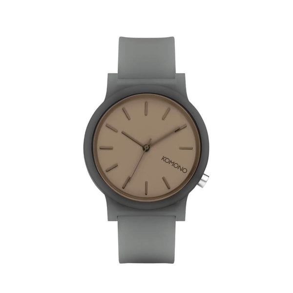 Montre KOMONO The Mono Charcoal Glow - PRECIOVS