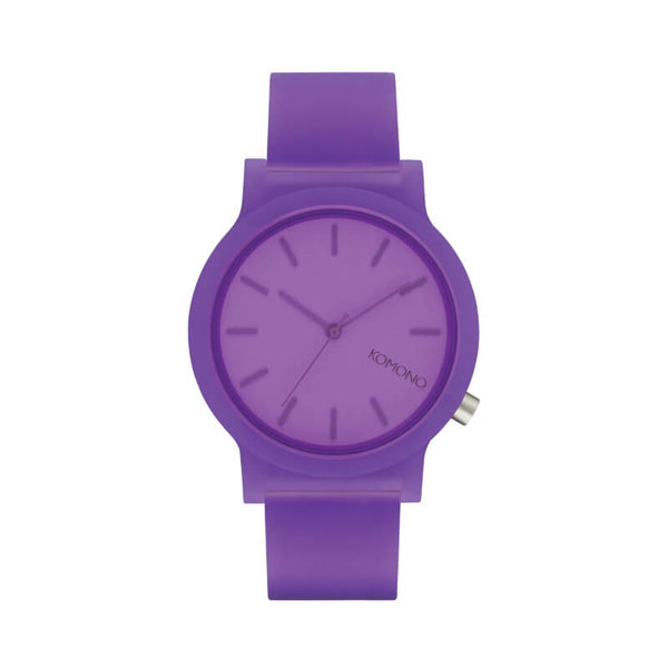 Montre KOMONO The Mono Purple Glow - PRECIOVS