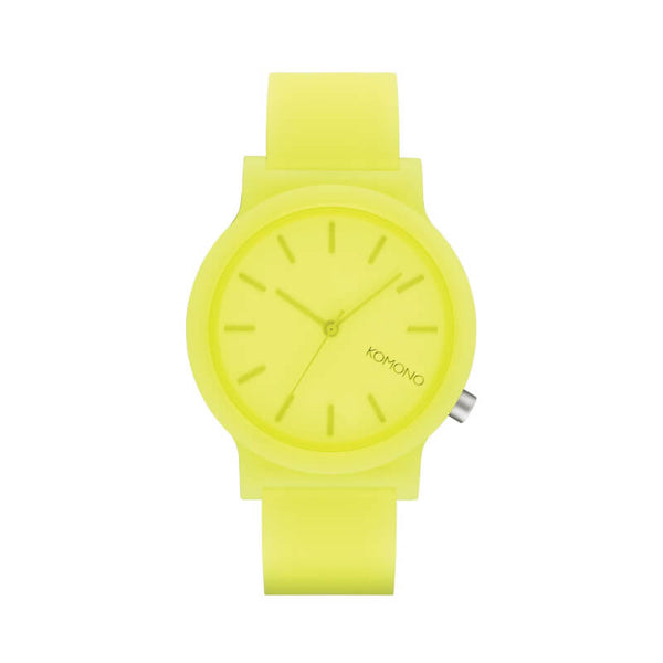 Montre KOMONO The Mono Neon Yellow Glow - PRECIOVS