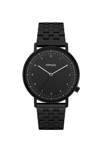 Montre Komono Lewis Estate Black