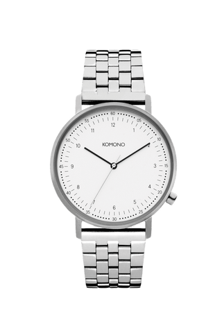 Montre Komono Lewis Estate Silver
