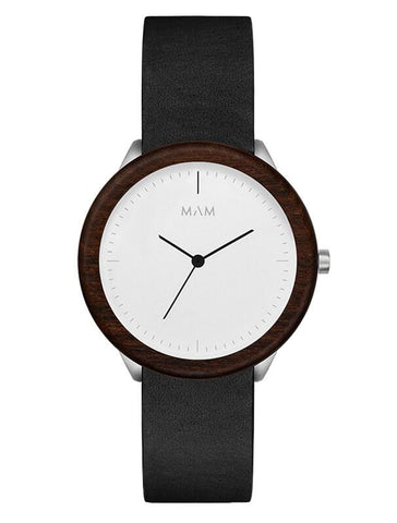 Montre MAM Originals Light Teak Black