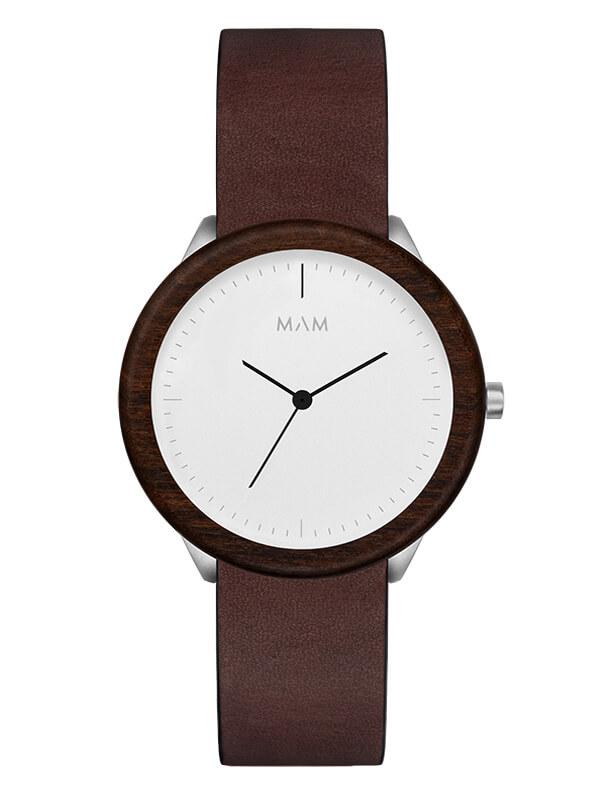 Montre MAM Originals Light Teak Cooper - PRECIOVS