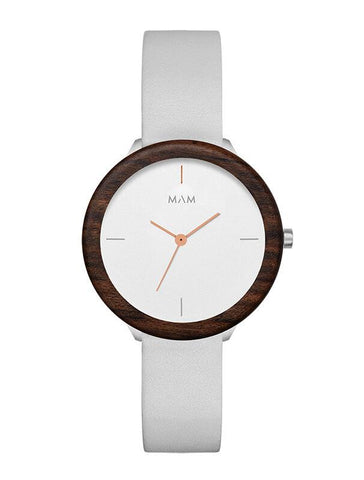 Montre MAM Originals Light Teak Grey
