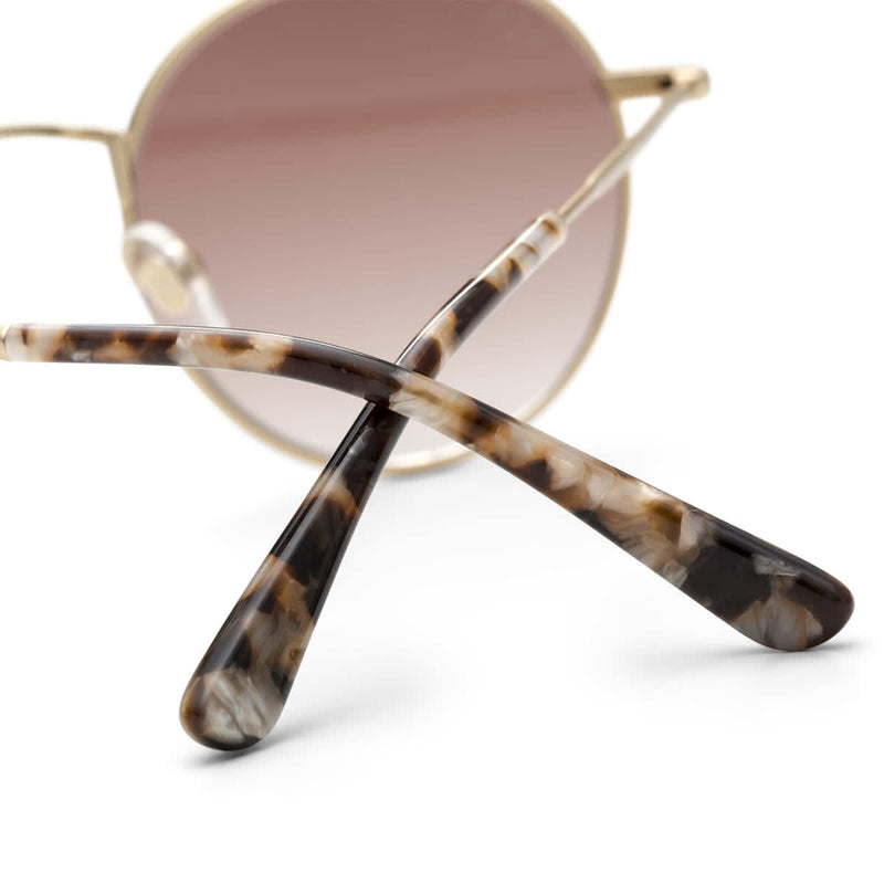 Lunettes de soleil Kapten & Son London Gold Brown Gradient - PRECIOVS