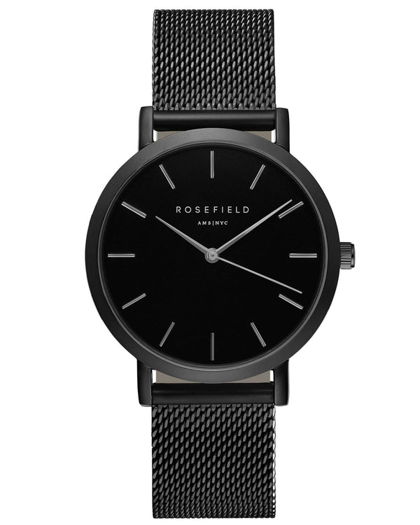 Montre Rosefield The MERCER Black Black MBB-M43 - PRECIOVS