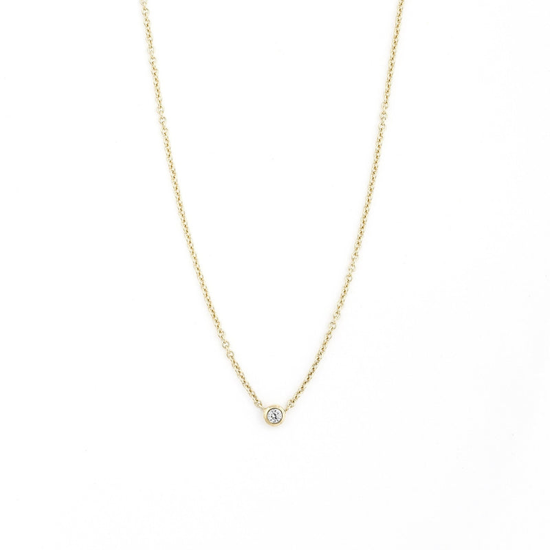 Collier I.Ma.Gi.N Jewels June Diamond Or Jaune - PRECIOVS