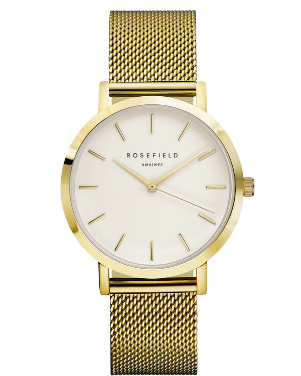 Montre Rosefield The MERCER White Gold MWG-M41 - PRECIOVS