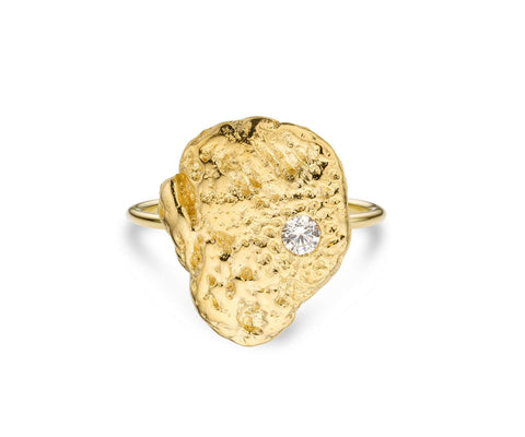 Bague MYA BAY Pépite d'or BA-185.G