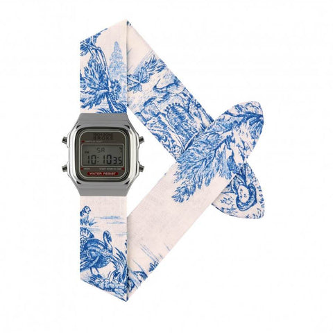 Montre RICH GONE BROKE Silver Digital Blue Jouy