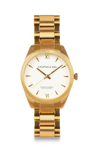 Montre Kapten & Son Crush Gold Steel
