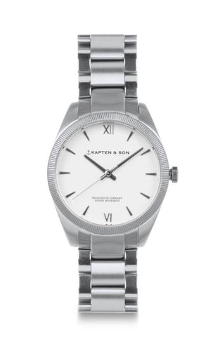 Montre Kapten & Son Crush Silver Steel