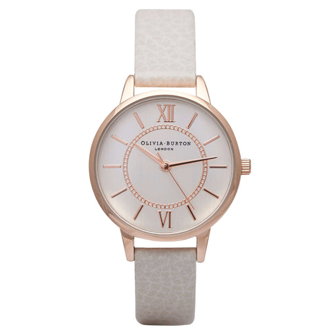Montre Olivia Burton Wonderland Mix Mink, Rose & Silver