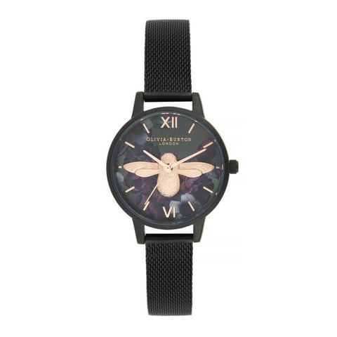 Montre Olivia Burton After Dark 3D Bee Midi Dial OB16AD39