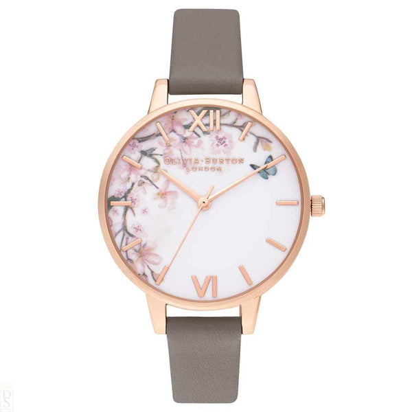 Montre Olivia Burton Pretty Blossom Demi London Grey & Rose Gold OB16EG122 - PRECIOVS