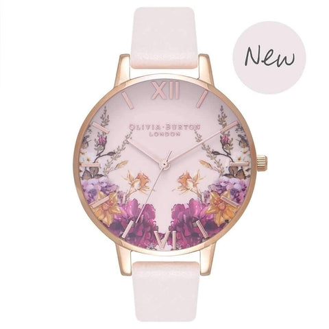 Montre Olivia Burton Enchanted Garden Blossom & Rose Gold OB16EG81