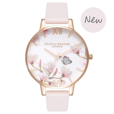 Montre Olivia Burton Pretty Blossom & Rose Gold OB16EG93