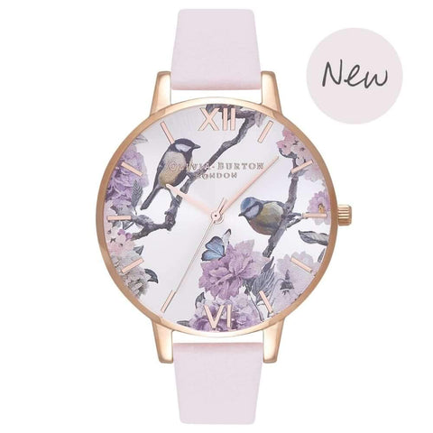 Montre Olivia Burton Pretty Blossom & Rose Gold OB16PL35