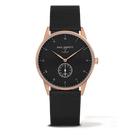 Montre Paul Hewitt Signature Line Black Sea IP Or Rosé Bande Métallique IP Noir PH-M1-R-B-5M