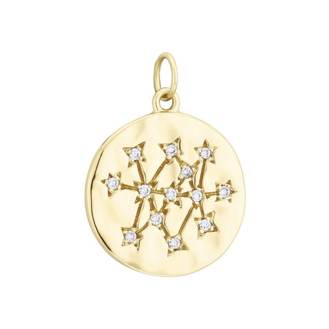 Pendentif I.Ma.Gi.N Jewels Charm coin Or Jaune