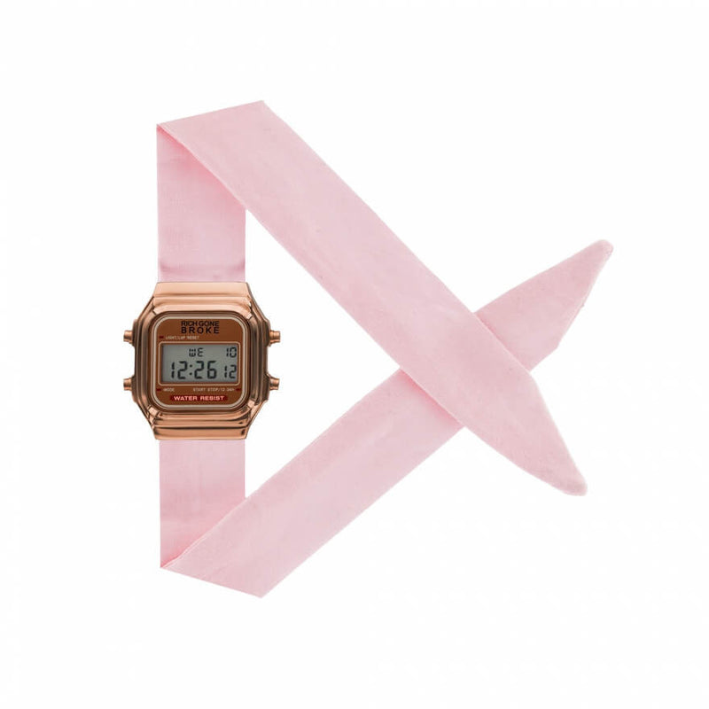 Montre RICH GONE BROKE Rose Gold Digital Okinawa - PRECIOVS