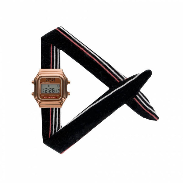 Montre RICH GONE BROKE Rose Gold Digital Seoul - PRECIOVS
