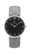 Montre Kapten & Son Silver Black Grey Vintage Leather - PRECIOVS