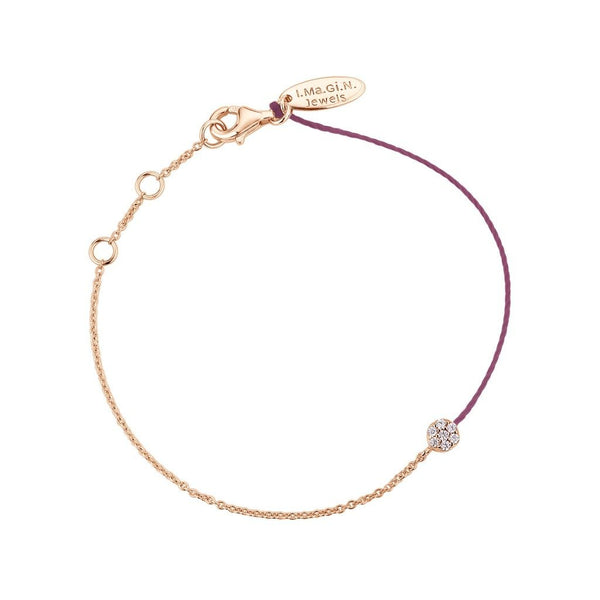 Bracelet I.Ma.Gi.N Jewels Br round duo Rose Gold - PRECIOVS