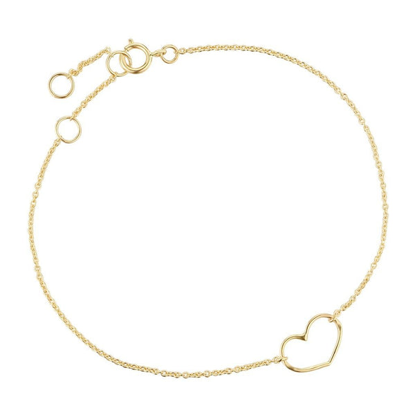Bracelet I.Ma.Gi.N Jewels Heart Diamond Or Jaune - PRECIOVS