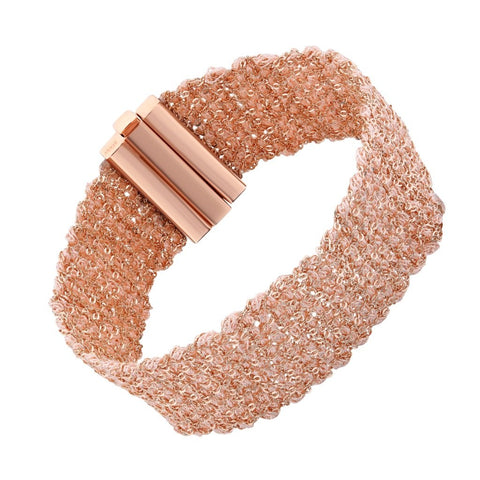 Bracelet I.Ma.Gi.N Jewels Silky Salmon Rose Gold